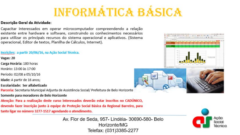 Matrícula Informática Básica 20 06