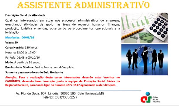 Matricula  Assistente Administrativo
